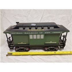 NEW JERSEY RAIL CART JAMES BEAM WHISKEY BOTTLE