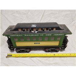 PASSENGER RAIL CAR JAMES BEAM WHISKEY BOTTLE