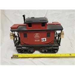 CABOOSE CAR JAMES BEAM WHISKEY BOTTLE