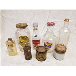 VINTAGE AND ANTIQUE BOTTLES/CONTAINERS