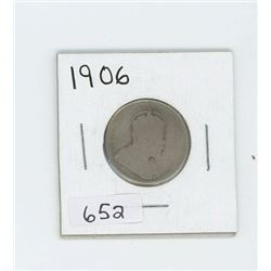 1906 CANADIAN 25 CENT