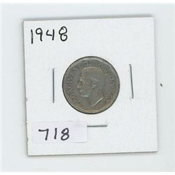 1948 CANADIAN 5 CENT
