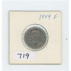 1949 CANADIAN 5 CENT