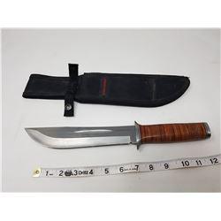 """HI-CARBON 7.75"""" BLADE HUNTING KNIFE"""
