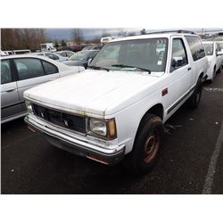 1989 GMC S-15 Jimmy