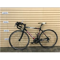 BLACK CERVELO ROAD BIKE