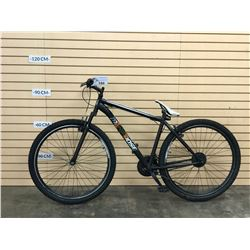 BLACK MONGOOSE EXCURSION FRONT SUSPENSION MOUNTAIN BIKE