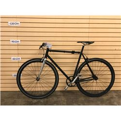 BLACK NO NAME FIXED GEAR BIKE