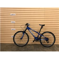 BLUE TREK MT220 FRONT SUSPENSION KIDS MOUNTAIN BIKE