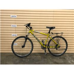 GOLD KONA MUNI-MULA FRONT SUSPENSION MOUNTAIN BIKE