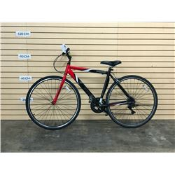 RED HYPER HPR700 ROAD BIKE, NO BRAKES