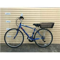 BLUE SCHWINN CRUISER BIKE