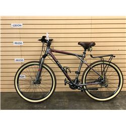 GREY GT TRANSEO 3.0 HYBRID FRONT SUSPENSION TRAIL BIKE