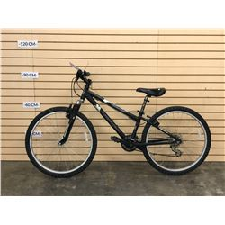BLACK NORCO MOUNTAINEER FRONT SUSPENSION MOUNTAIN BIKE