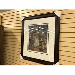 "EMILY CARR ""KITWANCOOL"" FRAMED LIMITED EDITION PRINT, 301/950"