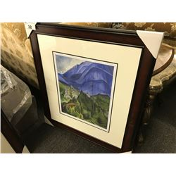 "EMILY CARR ""PEMBERTON MEADOWS"" FRAMED LIMITED EDITION PRINT, 305/950"