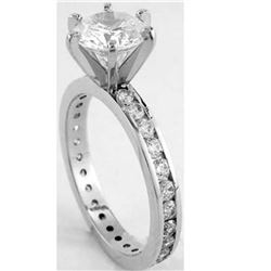 Natural Diamond Ring SI2/H 1.65 Cts - no Treatment