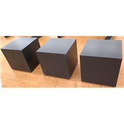 """Qty 3 Medium Display Stands 24"""" x 24"""" x 24""""H"""
