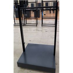 """Clothing Rack with Rolling Base 36"""" x 36"""" x 60""""H"""