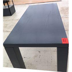 "Tall Rectangular Merchandise Display Table 6ft x 3ft x 34""H"