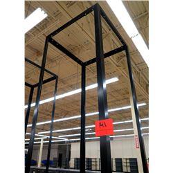 """Tall Metal Stand/Signage Display Unit 36"""" x 18"""" x 103""""H"""