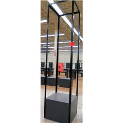 "Tall Metal Stand/Signage Display Unit 36"" x 18"" x 103""H"