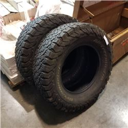 PAIR OF BF GOODRICH A/T LT265 R17 TIRES