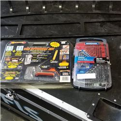 MASTERCRAFT HEX AND TOX SET W/ ARROW STAPLE GUN