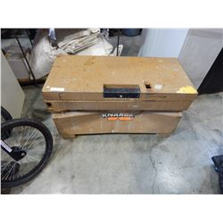 KNACK JOB MASTER TRUCK TOOLBOX - DENTED FRONT
