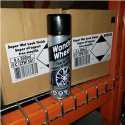 2 BOXES WONDER WHEELS WET LOOK FINISH SPRAY