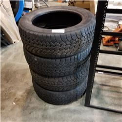 SET OF 4 GOODYEAR 235/55 R18 NORDIC WINTER TIRES