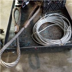 CABLE SLING AND CABLE