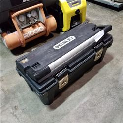 STANLEY TOOL BOX W/ CONTENTS