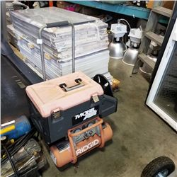 RIGID AIR COMPRESSOR AND BRAD NAILER KIT