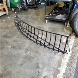 8FT STEEL BOWED METAL GUARDRAIL