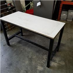 ALUMINUM BASE WORKBENCH 2FT BY 5FT