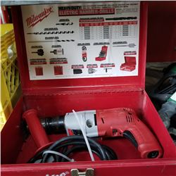 MILWAUKEE MAGNUM ELECTRIC HAMMER DRILL