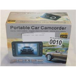 PORTABLE CAR CAM CORDER