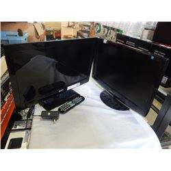 RCA TV AND SAMSUNG MONITOR