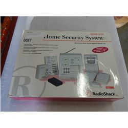 RADIO SHACK WIRELESS HOME SECURITY SYSTEM IN BOX