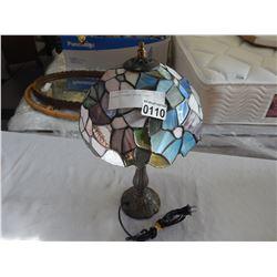 LEADED TIFFANY STYLE LAMP