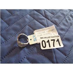 ITALIAN TIFFANY BUTTERFLY RING SIZE 7-1/2