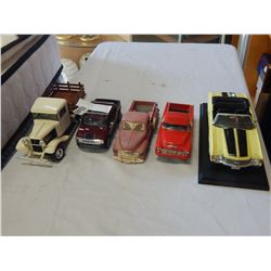 LOT OF MODEL AND DIE CAST CARS