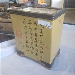 FIBERGLASS AND CERAMIC EASTERN PLANTER BOX