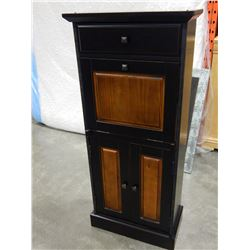PIER 1 IMPORTS BLACK DROP FRONT DESK