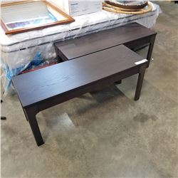 2 IKEA BENCHES