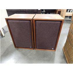 PAIR OF LISSEN MADE IN USE SPEAKERS