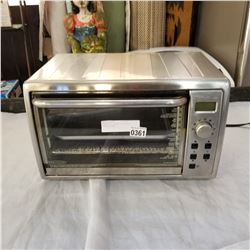 BLACK AND DECKER STAINLESS TOASTER OVEN