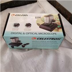 CELESTRON DIGITAL AND OPTICAL MICROSCOPE