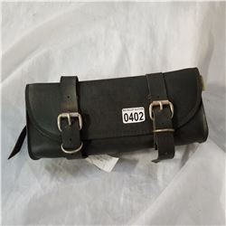 WILLIE AND MAX LEATHER MOTOCYCLE BAR BAG